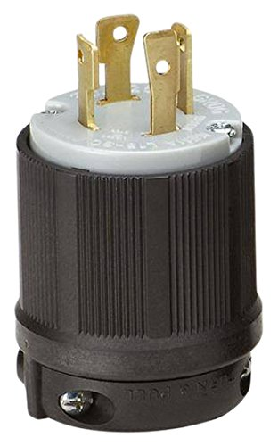 OCSParts L15-30P Locking Plug, Rated for 30 Amp, 250 VAC, cUL Listed