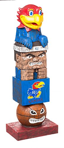(Team Sports America NCAA Kansas Jayhawks Tiki Totem)