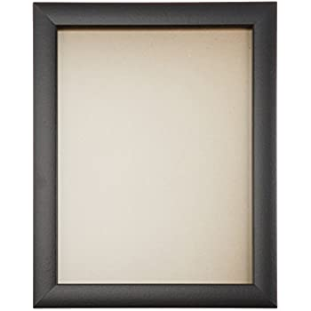 craig frames 1wb3bk 13 by 19 inch picture frame smooth wrap finish 1 inch wide black