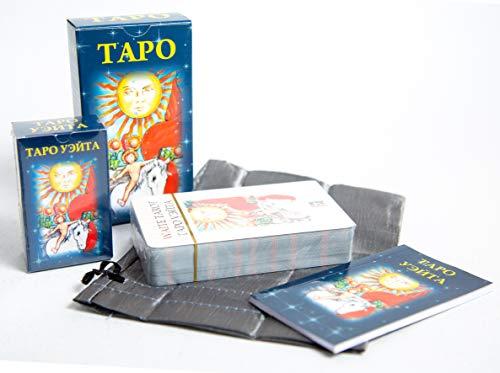 78 Tarot Card Deck Rider Waite Russian Manual 2017 GOOD OSTARA by Unknown (Image #1)