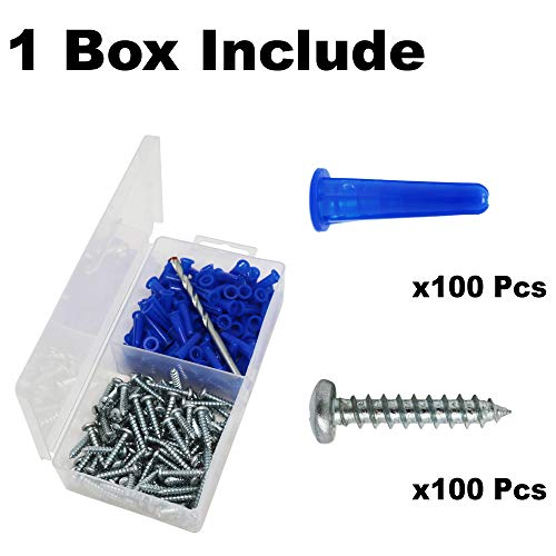 Buy drill bit to drill out screws