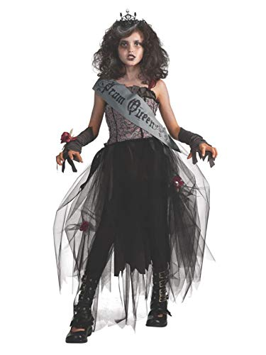 Rubie's Deluxe Goth Prom Queen Costume - Medium (8-10) ()