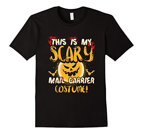 Mens This is my Scary Mail Carrier Costume T Shirt 3XL Black (Mail Carrier Costumes)