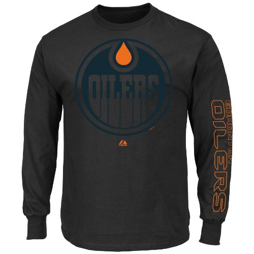 NHL Men's Goal Crease Long Sleeve Shirt
