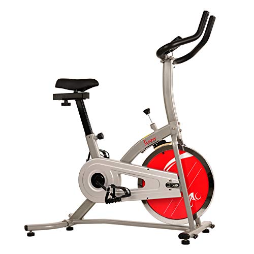 Sunny Health & Fitness Indoor Cycling Exercise Stationary Bike with Monitor and Flywheel Bike - SF-B1203 by Sunny Health & Fitness (Image #2)