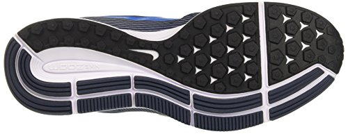 Nike Air Zoom Pegasus 34 Menns Joggesko Ren Platina / Bilde Blå