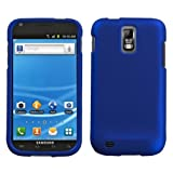 Asmyna SAMT989HPCSO203NP Titanium Premium Durable Rubberized Protective Case for Samsung Galaxy S II/SGH-T989 - 1 Pack - Retail Packaging - Dark Blue
