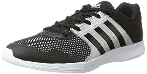 Adidas Essential Fun Ii W, Chaussures de Tennis Femme, Noir (Negbas/Negbas/Plamet), 43 EU
