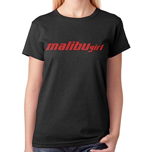Fairystore Womens Malibu Boats Unique T Shirt Small Black