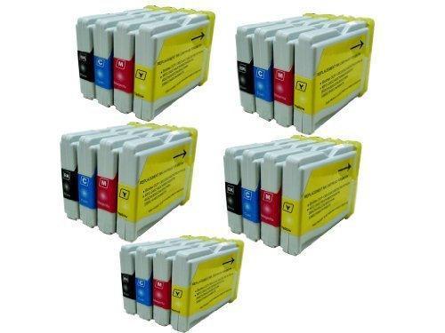 20 NANO Compatible Ink Cartridges for Brother LC51 LC-51 MFC