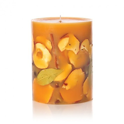 Spice Candle Apple - Rosy Rings Spicy Apple Tall Round Scented Candles, 5