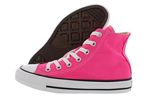 Converse Chuck Taylor All Star Seasonal High Top Fashion Shoe Pink Pow Men's Size 4.5/Women's Size 6.5