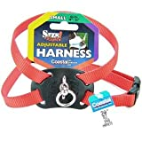 Size Right Adjustable Harness Red 18 to 24 Inches Girth with a Width of 5/8 in.