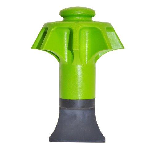 DANCO Disposal Genie Garbage Disposal Strainer | Kitchen Sink Drain Splash Guard | Food Scraper | Green (10453)