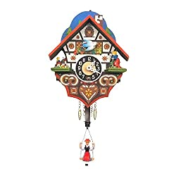 Alexander Taron Home Seasonal Décorative Accessories Engstler Key Wound Clock - Mini Size - 6H x 4.75W x 3.25D