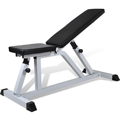 Anself Adjustable Weight Bench for Fitness Abdominal Trainer by Anself
