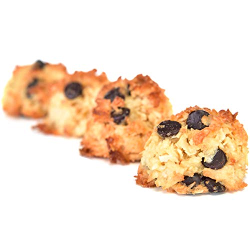 Ketonia Keto Coconut Macaroons - 16 Hand Made Macaroons - 1/2 Net Carb & 60 Calories Per Macaroon - Gluten & Grain Free - Low Carb - Natural MCT's - Stay in Ketosis 5