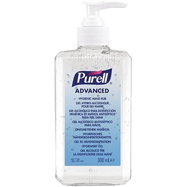 Purell Antibacterial Alcohol Hand Rub Gel Cleanser Sanitiser