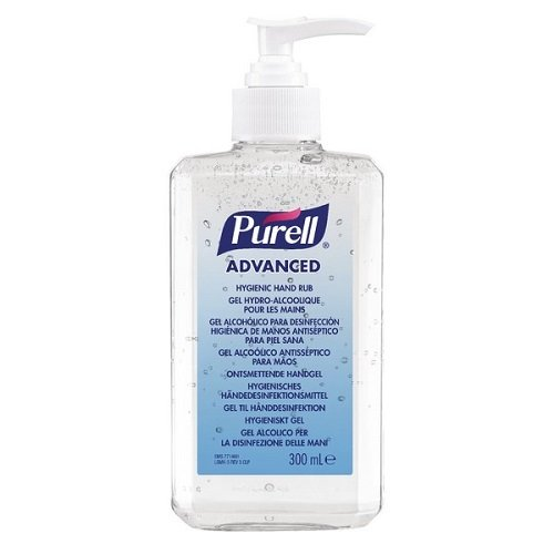 PURELL Advanced Hygienic Hand Rub Pump Bottle, 300 ml GOJO Industries-Europe Ltd (EU) 9263-12-EEU00