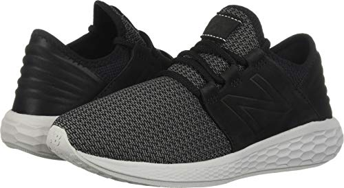 - New Balance Men's Cruz V2 Fresh Foam Running Shoe, black/castlerock/nubuck, 10 D US