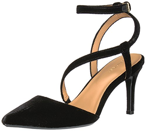 Calvin Klein Womens Ganya Dress Pump Black Velvet