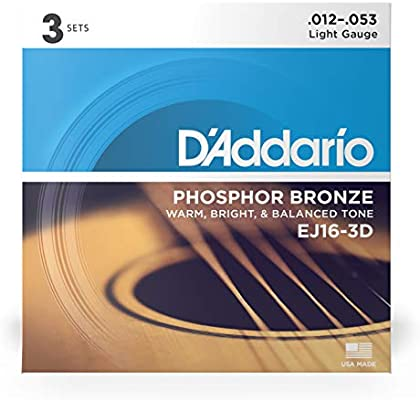 Daddario ej16 phosphor Corde chitarra acustica