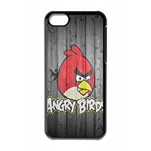 iPhone 5C Phone Case Black angry VJN361030