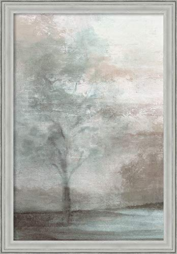Canvas Art Framed 'Enchantments II' by Eva Watts: Outer Size 23 x 33