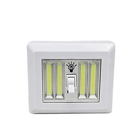 4 * COB LED interruptor de la luz Noche magnético inalámbrico de ...