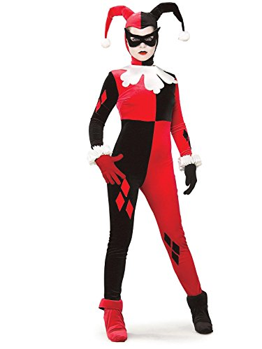 Rubie's Dc Heroes and Villains Collection Harley Quinn, Multicolored, Medium Costume for $<!--$29.99-->