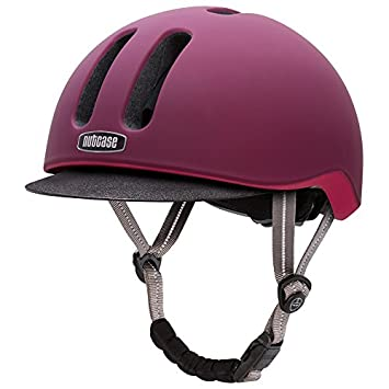 Nutcase Metroride - Casco de Bicicleta - Violeta Contorno de la Cabeza S-M / 55-