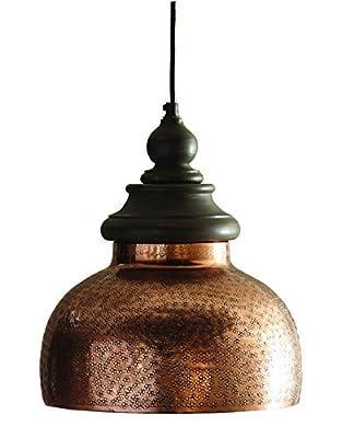 Split P Antique Copper Pendant
