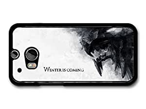 AMAF ? Accessories Game Of Thrones Winter Is Coming House Stark Targaryen Lannister Quote case for HTC One M8