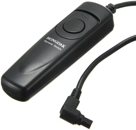 Water /& Wood RS-80 N3 Remote Shutter Release Cable for Canon 40D 50D 7D 1D Mark II III 5D EOS