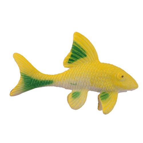 12pcs pl stico peces artificiales juguete figuras modelos for Plastico para lagunas artificiales