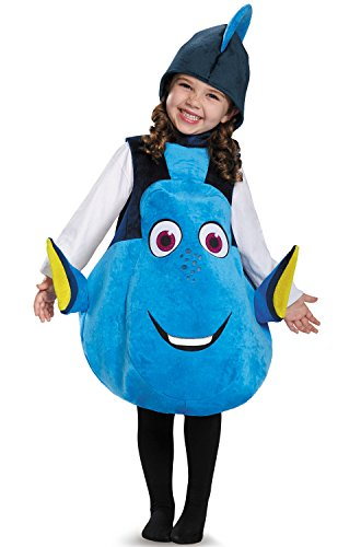 Dory Toddler Deluxe Finding Dory Disney/Pixar Costume, One Size (Toddler Girl Fish Costume)
