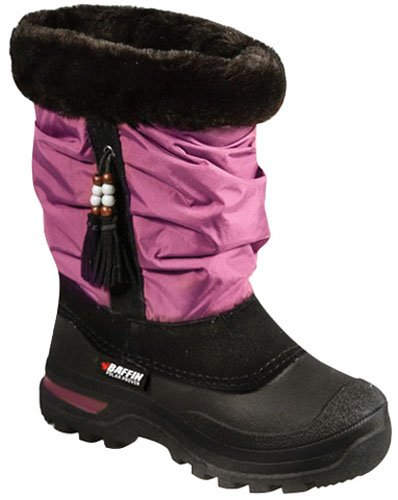 Baffin Junior Susan - Plum Boot Maat 7, Fabrikant: Baffin, Artikelnummer Van De Fabrikant: Sntr-j008 Pl1 7-ad, Stockfoto