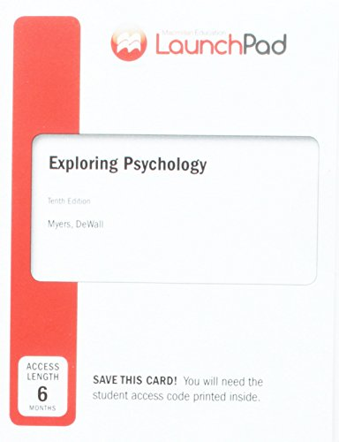 Exploring Psychology Launchpad Access