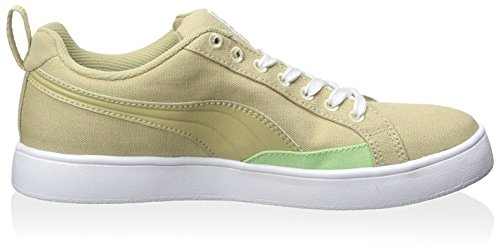 PUMA Women's Match Lite Basic Sports Sneaker, Pale Khaki, 37 M EU/6.5 M US