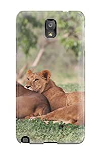 New ZhDkuEa5571TJTdu A Lion's Pride Skin Case Cover Shatterproof Case For Galaxy Note 3