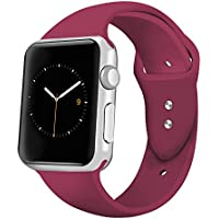 iGK Sport Band for Apple Watch 42mm 38mm, Soft Silicone...