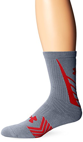 Steel pour Homme Undeniable de Sport Crew Red Chaussettes Armour UA Under Youth 6Zx7qOwgZa