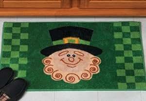 LEPRECHAUN BATH MAT rug St Patricks Day bathroom decor