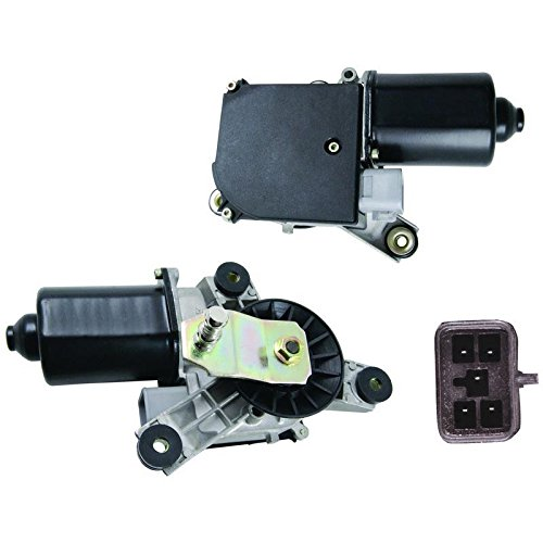New Front Wiper Motor W/Pulseboard Module & Motor Delay For 1991-2000 Chevy GMC CK 2500 3500 Truck, Replaces GM 12368702 15740719 22100736 22101097