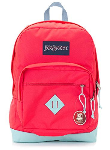 Jansport City Scout Backpack (Fluorescent Red)