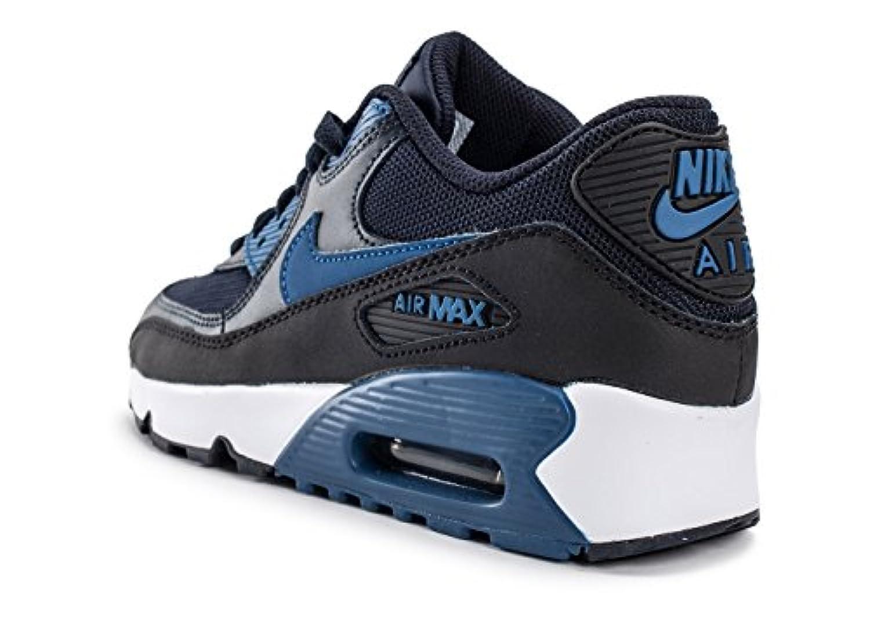 Nike 833418-402, Trainers for boys, Dark Blue (Dark Obsidian / Court Bluee Black White), 35.5