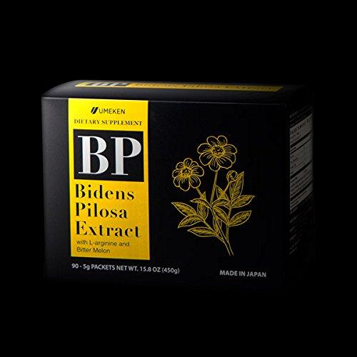 Umeken Bidens Pilosa Extract w/L-Arginine & Bitter Melon (90 Packets Total)