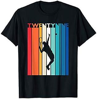 29th Birthday Gift Vintage Tennis  29 Year Old Birthday T-shirt   Size S - 5XL