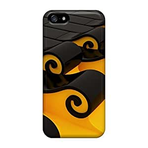 Durable Defender Case For Iphone 5/5s Tpu Cover(3d Style)