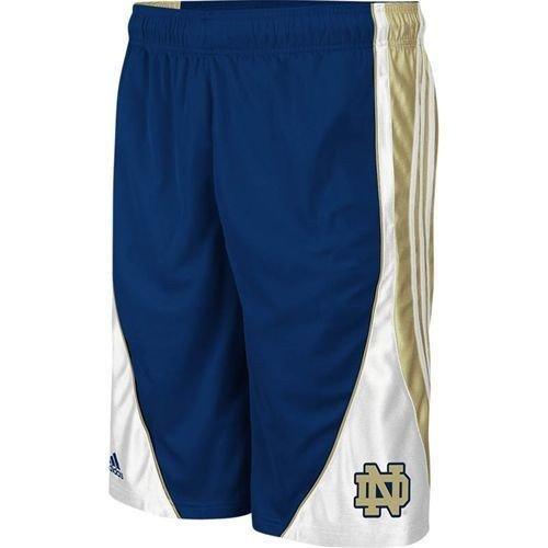 - Notre Dame Fighting Irish Flash Adidas Navy Mens Shorts (Medium)
